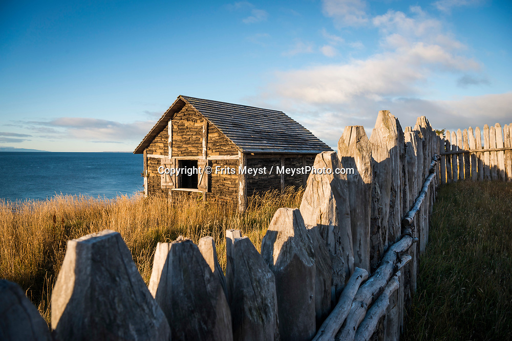 Magallanes, Chile, June 2017. Fuerte Bulnes is a Chilean fort located by the Strait of Magellan, 62 km south of Punta Arenas. It was founded in 1843 on a rocky hill at Punta Santa Ana, under the command of President Manuel Bulnes Prieto. Covering the stormy southern tip of the Americas, the province of Magallanes is not connected to by road to the rest of Chile. Photo by Frits Meyst / MeystPhoto.com