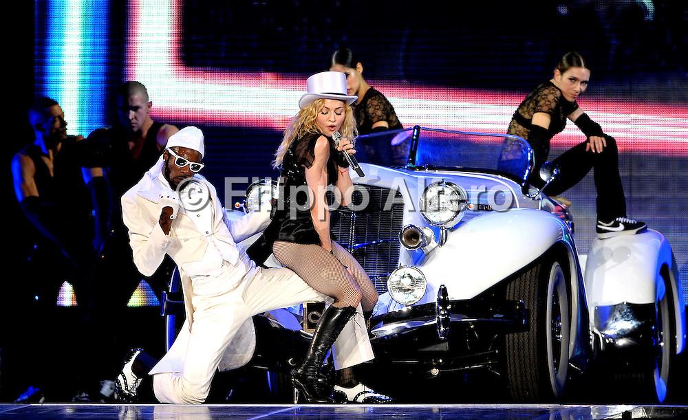 &copy; Filippo Alfero<br /> Milano, 14/07/2009<br /> spettacolo<br /> Madonna in concerto - Sticky &amp; Sweet Tour<br /> Nella foto: Madonna<br /> <br /> &copy; Filippo Alfero<br /> Milan, Italy, 14/07/2009<br /> entertainment<br /> Madonna in concert - Sticky &amp; Sweet Tour<br /> In the photo: Madonna
