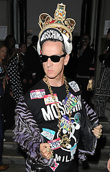 Jeremy Scott attends the i-D andJeremy Scottfor Moschino - anniversary party in London, UK. 24/06/2015<br /> BYLINE MUST READ : GOTCHAIMAGES.COM<br /> <br /> Copyright by © Gotcha Images Ltd. All rights reserved.<br /> Usage of this image is conditional upon the acceptance <br /> of Gotcha Images Ltd, terms and conditions available at<br /> www.gotchaimages.com