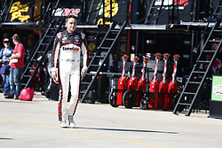 November 2, 2018 - Ft. Worth, Texas, United States of America - Christopher Bell (20) hangs out in the garage during practice for the O'Reilly Auto Parts Challenge at Texas Motor Speedway in Ft. Worth, Texas. (Credit Image: © Justin R. Noe Asp Inc/ASP via ZUMA Wire)