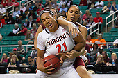 2012 ACC Women's Tourney Virginia 72 - Boston College 41