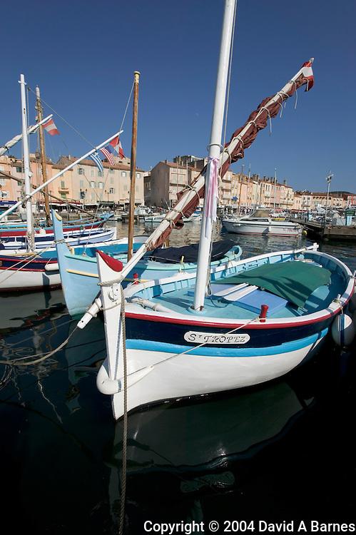 Old port, Saint Tropez, Var, Cote d'Azur, France