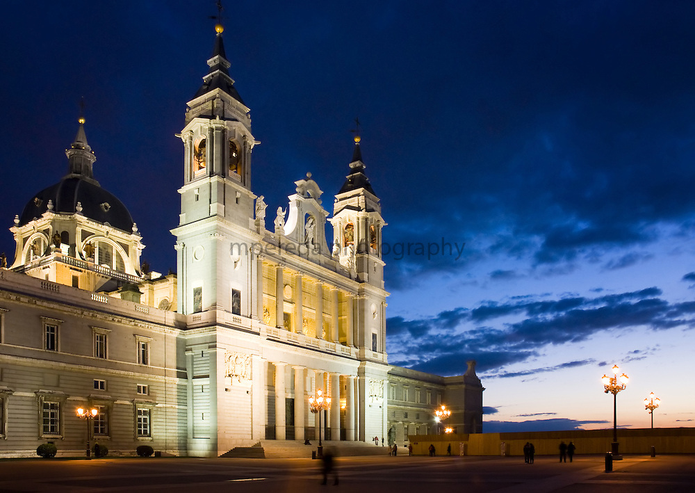 Almudena's Cathedral in Madrid