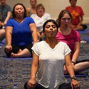 Cardinal Health RBC 2019. Yoga class. Photo by Alabastro Photography.