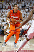 FAYETTEVILLE, AR - NOVEMBER 30:  Michael Carter-Williams #1 of the Syracuse Orangemen dribbles down the court during a game against the Arkansas Razorbacks at Bud Walton Arena on November 30, 2012 in Fayetteville, Arkansas.  The Orangemen defeated the Razorbacks 91-82.  (Photo by Wesley Hitt/Getty Images) *** Local Caption *** Michael Carter-Williams