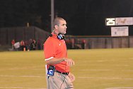Lafayette High coach Eric Roberson vs. Pontotoc in Pontotoc, Miss. on Friday, September 21, 2012. Lafayette High won 41-6.