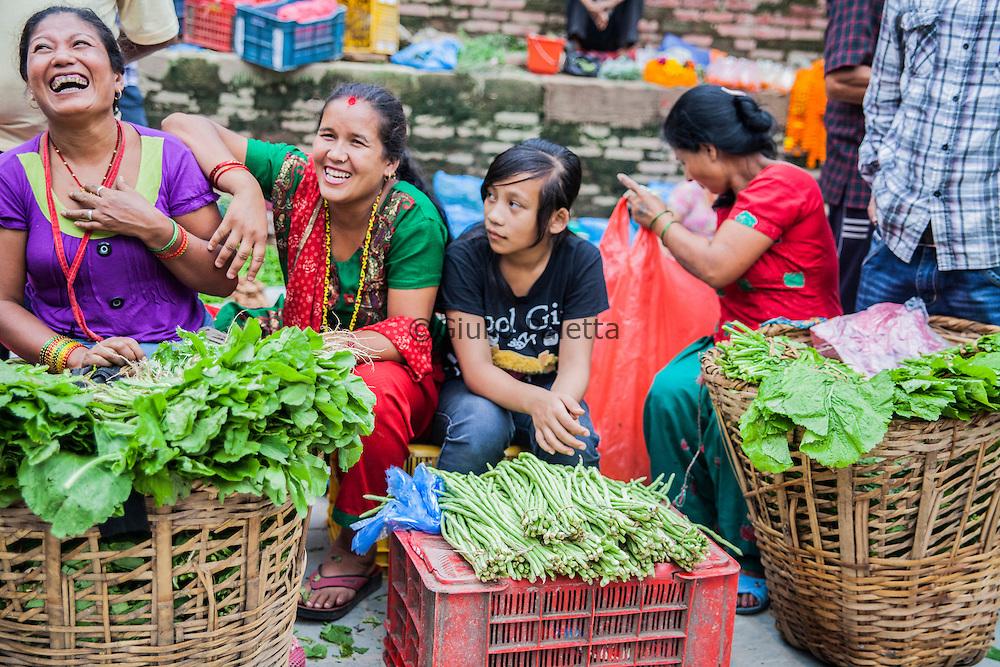 Street scenes around the famous Kathmandu Durbar square, Nepal