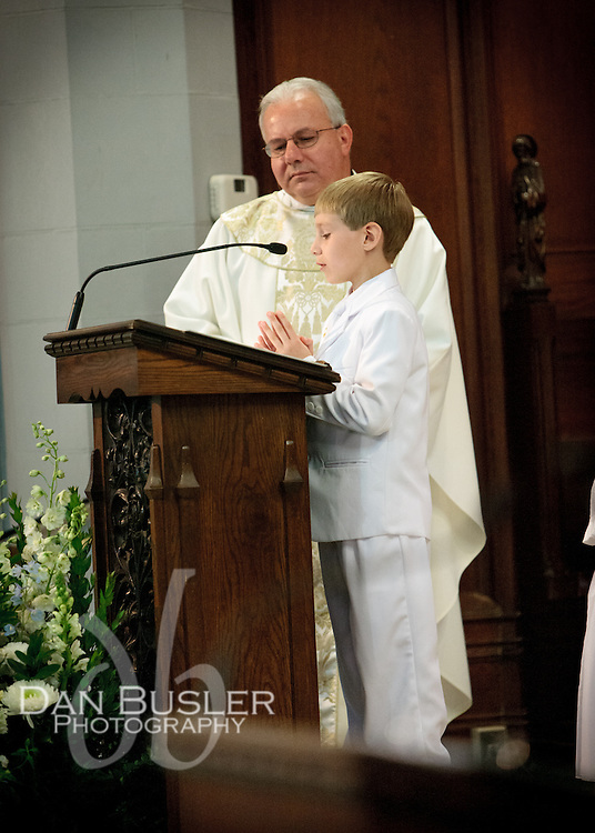 First Communion - May 2013 - St Catherine - Norwood MA