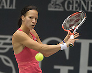 Viktorija Golubic (SUI) during the finals of the WTA Generali Ladies Linz Open at TipsArena, Linz<br /> Picture by EXPA Pictures/Focus Images Ltd 07814482222<br /> 16/10/2016<br /> *** UK &amp; IRELAND ONLY ***<br /> <br /> EXPA-REI-161016-5007.jpg