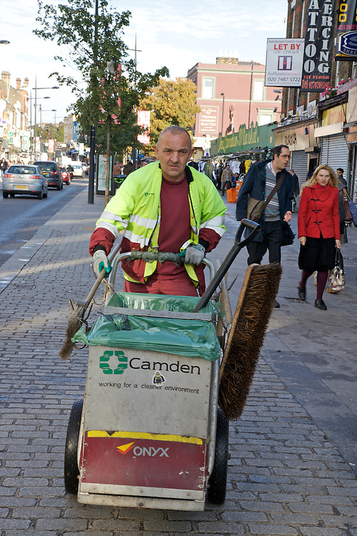 Litter Experiement, Camden High St