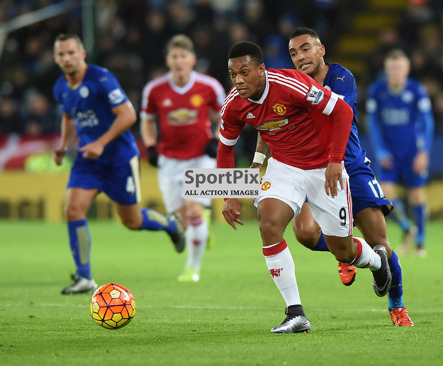 Anthony Martial gets away from Danny Simpson (c) Simon Kimber | SportPix.org.uk