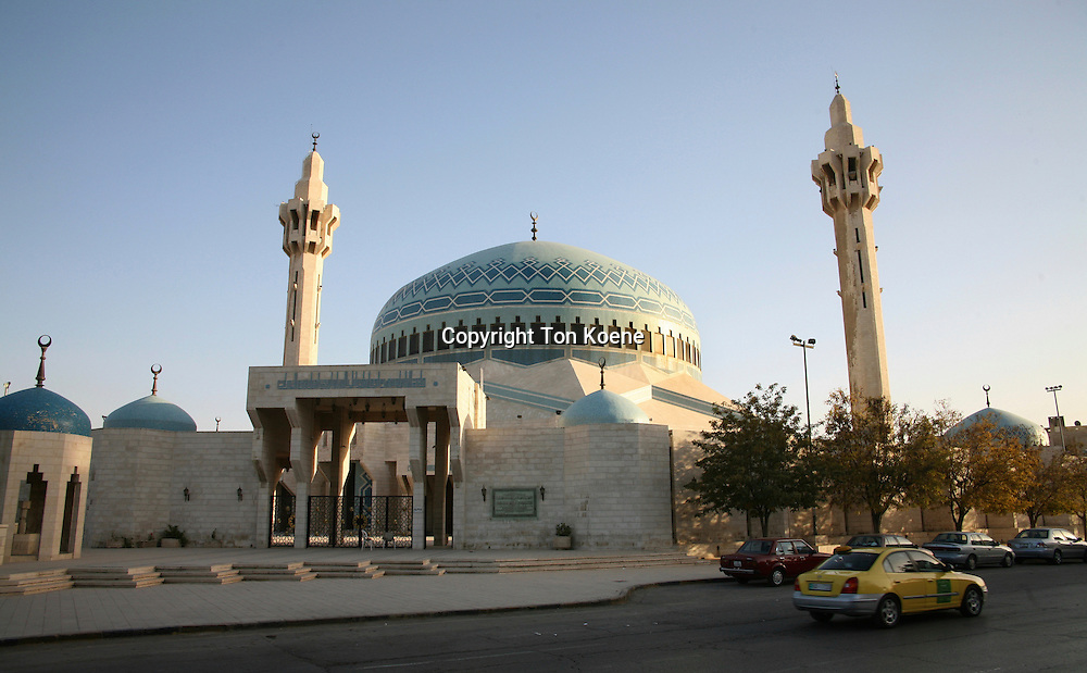 King Abdullah mosque in Amman, Jordan