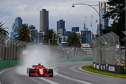March 24, 2018 - Melbourne, Victoria, Australia - 07 RAIKKONEN Kimi (fin), Scuderia Ferrari SF71H, action during 2018 Formula 1 championship at Melbourne, Australian Grand Prix, from March 22 To 25 - s: FIA Formula One World Championship 2018, Melbourne, Victoria : Motorsports: Formula 1 2018 Rolex  Australian Grand Prix, (Credit Image: © Hoch Zwei via ZUMA Wire)