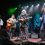 COLUMBIA, MD - May 14, 2015 - Matt Rollings, Buddy Miller, David Grisman and Audley Freed perform during the Dear Jerry: Celebrating the Music of Jerry Garcia concert at Merriweather Post Pavilion in Columbia, MD. (Photo by Kyle Gustafson / For The Washington Post)