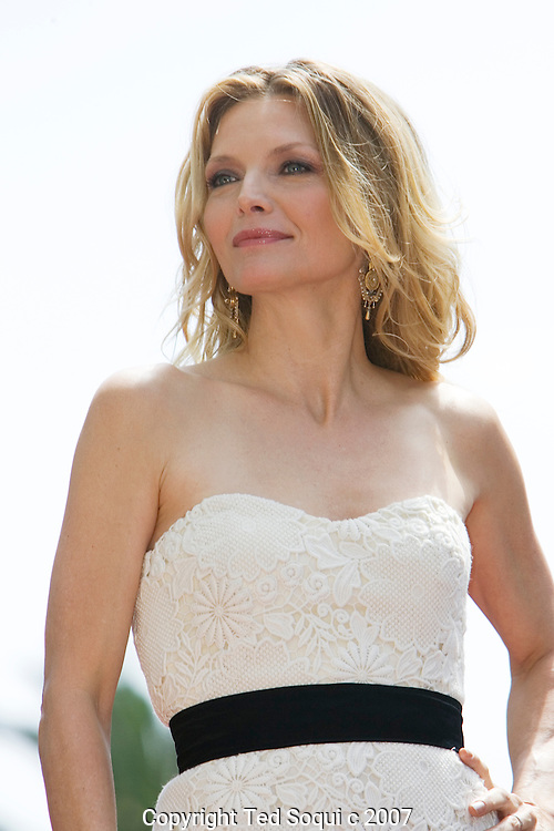 "Michelle Pfeiffer honored with star on the Hollywood Walk Of Fame. This was the 2,345 Star on the Hollywood Walk Of Fame. .Michelle starred in ""Scarface"", ""Love Field"", ""The Fabulous Baker Boys"", and Frankie and Johnny."" .Jeff Bridges and Paul Rudd were also there to honor her..Hollywood and Highland Complex, Hollywood, CA"