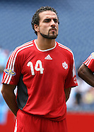 16 June 2007: Canada's Dwayne DeRosario. The Canada Men's National team defeated the Guatemala Men's National Team 3-0 at Gillette Stadium in Foxboro, Massachusetts in a 2007 CONCACAF Gold Cup quarterfinal.