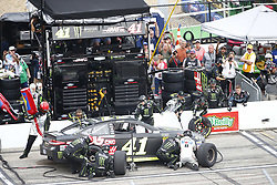 July 22, 2018 - Loudon, New Hampshire, United States of America - Kurt Busch (41) comes down pit road for service during the Foxwoods Resort Casino 301 at New Hampshire Motor Speedway in Loudon, New Hampshire. (Credit Image: © Justin R. Noe Asp Inc/ASP via ZUMA Wire)