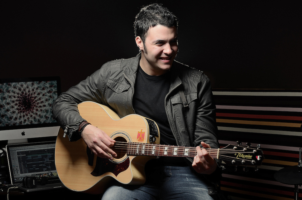Amir Eid - Song Writer, Guitarist and Lead Singer with Cairokee Band