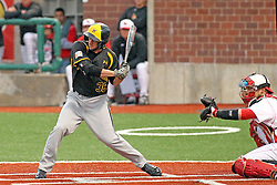 25 May 2013:  Erik Harbutz during an NCAA division 1 Missouri Valley Conference (MVC) Baseball Tournament game between the Wichita State Shockers and the Illinois State Redbirds on Duffy Bass Field, Normal IL