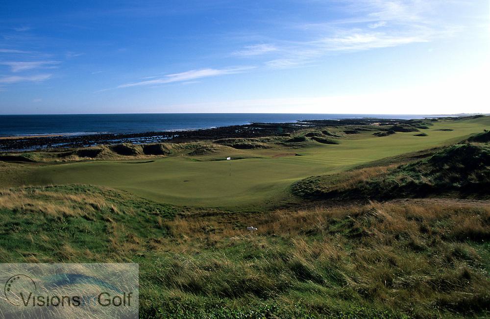 Kingsbarns Golf Club, Scotland. Hole 17. <br /> <br /> Mandatory credit: Visions In Golf/Richard Castka