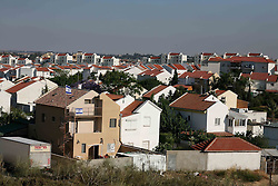 Sderot  - May 2nd ,  2008 -General view of Sderot, Southern Israel, The small town has frequent rocket attacks from Gaza, May 2nd, 2008. Picture by Andrew Parsons / i-Images