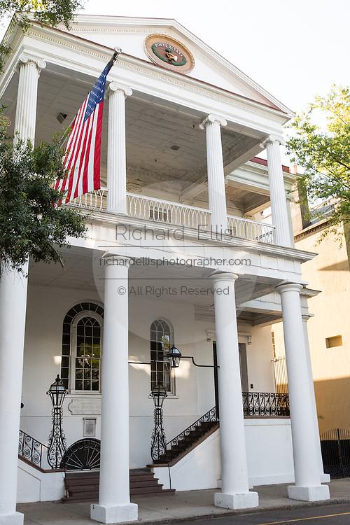 South Carolina Society on Meeting Street in Charleston, SC.