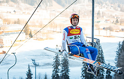 16.12.2016, Nordische Arena, Ramsau, AUT, FIS Weltcup Nordische Kombination, Skisprung, im Bild Bjoern Kircheisen (GER) // Bjoern Kircheisen of Germany during Skijumping Competition of FIS Nordic Combined World Cup, at the Nordic Arena in Ramsau, Austria on 2016/12/16. EXPA Pictures © 2016, PhotoCredit: EXPA/ JFK