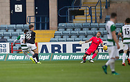 Buckie Thistle&rsquo;s Steven Ross (left) misses a great chance to equalise - Dundee v Buckie Thistle, Betfred Cup at Dens Park, Dundee, Photo: David Young<br /> <br />  - &copy; David Young - www.davidyoungphoto.co.uk - email: davidyoungphoto@gmail.com
