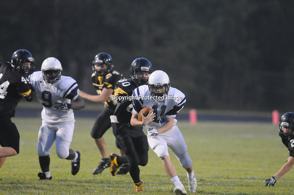 Topsail played Swansboro in the third game of The Pender County Jamboree Saturday August 16, 2014 at Trask High School. (Jason A. Frizzelle)