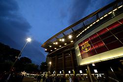 A general view of the FC Barcelona Stadium, Camp Nou from outside - Mandatory by-line: Dougie Allward/JMP - 19/10/2016 - FOOTBALL - Camp Nou - Barcelona, Catalonia - FC Barcelona v Manchester City - UEFA Champions League