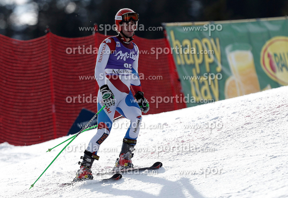 11.01.2014, Adelboden, SUI, FIS Weltcup Ski Alpin, Adelboden, Riesentorlauf, 2. Durchgang, im Bild Thomas Tumler (SUI) // during 2nd run of Men Giant Slalom of FIS Ski Alpine World Cup at Adelboden, Switzerland on 2014/01/11. EXPA Pictures &copy; 2014, PhotoCredit: EXPA/ Freshfocus/ Christian Pfander<br /> <br /> *****ATTENTION - for AUT, SLO, CRO, SRB, BIH, MAZ only*****