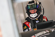 TF Sport Aston Martin Vantage GT3 driver Derek Johnston during the British GT Championship at Snetterton Circuit. Photo: Jurek Biegus.