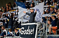 Fotball , 13. mai 2019 , Eliteserien , Strømsgodset - Viking<br /> illustrasjon , Godsetunionen ,  SIF<br /> , publikum , fan , fans , tilskuer , sang , skjerf