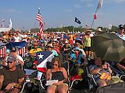 Music fans at the Austin City Limits Music Festival, Austin Texas, September 27 2008.