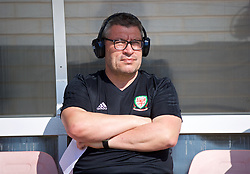 NEWPORT, WALES - Sunday, May 20, 2018: Welsh Football Trust's Technical Director Osian Roberts during day three of the Football Association of Wales' National Coaches Conference 2018 at Dragon Park. (Pic by David Rawcliffe/Propaganda)