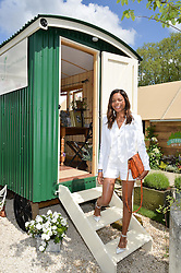 NAOMIE HARRIS at the 2016 RHS Chelsea Flower Show, Royal Hospital Chelsea, London on 23rd May 2016