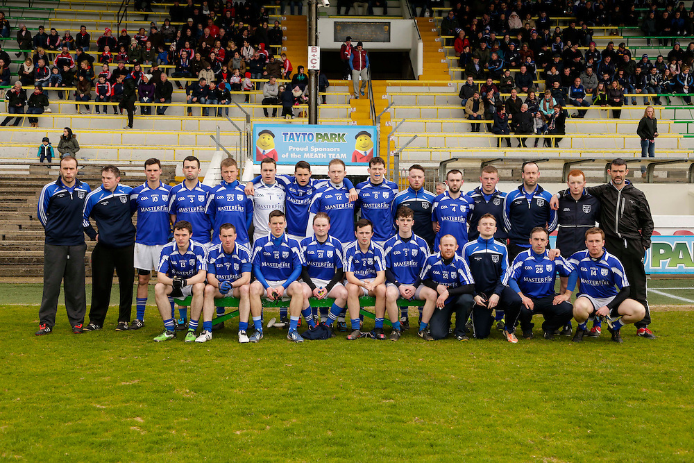 JFC at Pairc Tailteann, Navan, 16th April 2016<br /> Meath Hill vs Drumconrath<br /> Meath Hill Team, Back Row, L-R, Emmet Matthews, Derek McMahon, Martin Tully, Brian Owens, Jonathon Finnegan, Dominick Yorke, Jason Yorke, Pierce McGrath, Tommy Rooney, Shane McCabe, Simon Martin, Graham Boylan, Barry Kierans,  Matthew Carolan, Emmet Boyle.<br /> Front Row, L-R, Peter Malone, Barry Kierans, Chris Yorke, Ross McGrath, Conor Marry, James Mooney, Pauric Smith, Thomas McGrath, Dean Farrelly, Donnacadh Boyle.<br /> Photo: David Mullen /www.cyberimages.net / 2016