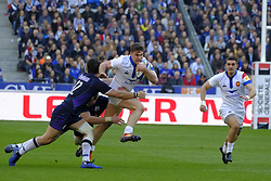 February 23, 2019 - Saint Denis, Seine Saint Denis, France - The Wing of French Team DAMIAN PENAUD in action during the Guinness Six Nations Rugby tournament between France and Scotland at the Stade de France - St Denis - France..France won 27-10 (Credit Image: © Pierre Stevenin/ZUMA Wire)