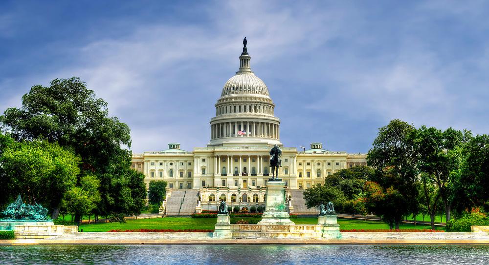 US Capitol Building, Washington, DC USA