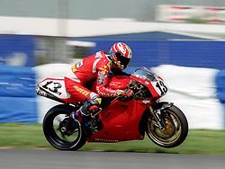ANDREAS MEKLAU AUT HPB DUCATI AUSTRIA,  World Superbike Championship Donington Park 4th May 1997 World Superbike Championship Donington Park  4th May 1997WORLD SUPERBIKE DONN 4/5/1997