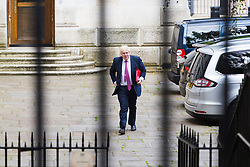 London, July 18th 2017. Foreign and Commonwealth Secretary Boris Johnson attends the last cabinet meeting before the Parliamentary summer recess at Downing Street in London.
