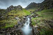 Taken in west-Iceland in Grundarfjordur Kirkjufell waterfall