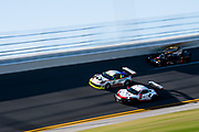 January 5-7, 2018. IMSA Weathertech Series ROAR before 24 test. 59 Manthey Racing, Porsche 911 GT3 R, Steve Smith, Harald Proczyk, Sven Muller, Matteo Cairoli, 911 Porsche GT Team, Porsche 911 RSR, Patrick Pilet, Nick Tandy, Frederic Makowiecki