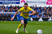 Jack Harrison of Leeds United (22) in action during the EFL Sky Bet Championship match between Ipswich Town and Leeds United at Portman Road, Ipswich, England on 5 May 2019.