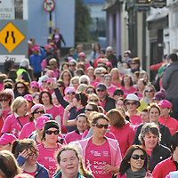 Free Pic / No Reproduction Fee.Over 750 participants took part in the first Kinsale Pink Ribbon Walk on Sunday 4th March, raising a staggering 80,000 for Action Breast Cancer, a programme of the Irish Cancer Society. .Pic. John Allen