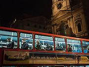 Bus,  London. 28 January 2016
