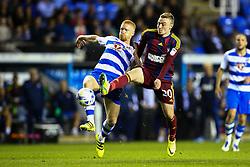Paul McShane of Reading tackles Freddie Sears of Ipswich Town - Mandatory by-line: Jason Brown/JMP - 09/09/2016 - FOOTBALL - Madejski Stadium - Reading, England - Reading v Ipswich Town - Sky Bet Championship