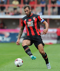 Bournemouth's Steve Cook - Photo mandatory by-line: Harry Trump/JMP - Mobile: 07966 386802 - 18/07/15 - SPORT - FOOTBALL - Pre Season Fixture - Exeter City v Bournemouth - St James Park, Exeter, England.