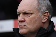 Picture by David Horn/Focus Images Ltd +44 7545 970036.29/12/2012.Martin Jol, Manager of Fulham during the Barclays Premier League match at Craven Cottage, London.