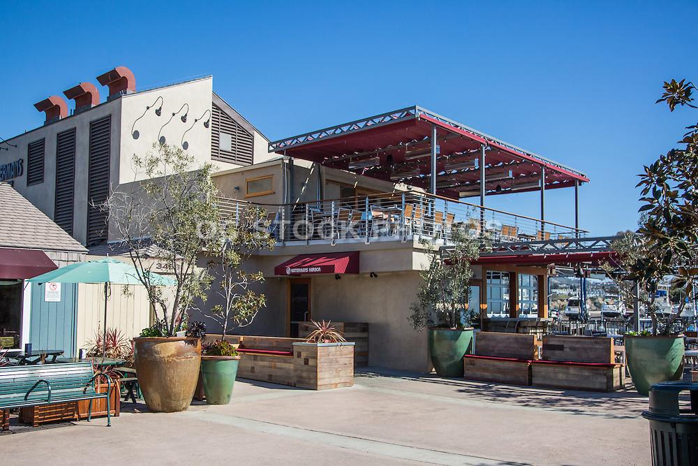Watermans Restaurant At The Dana Point Harbor Socal Stock Photos